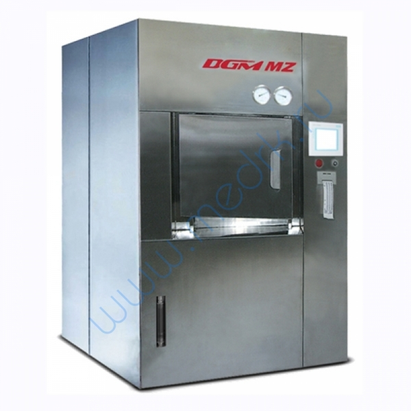 Установка для обеззараживания медицинских отходов DGM MZ 130–2000  Вид 1