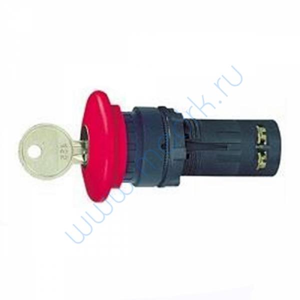 Ключ аварийного останова 22 мм красный XB7ES145P