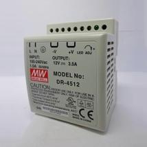 Источник питания MW DR - 4512 45Ц 12М 3.5A на дин-рейку