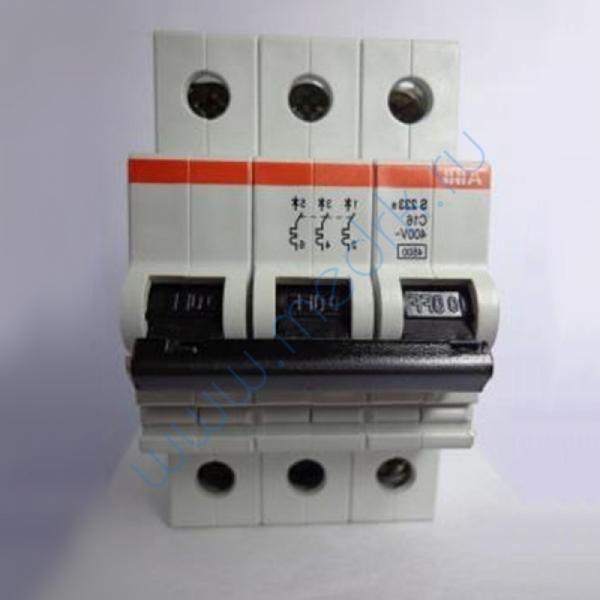 Выключатель автоматический 16А S233 R C 16 3-полюсной  Вид 1