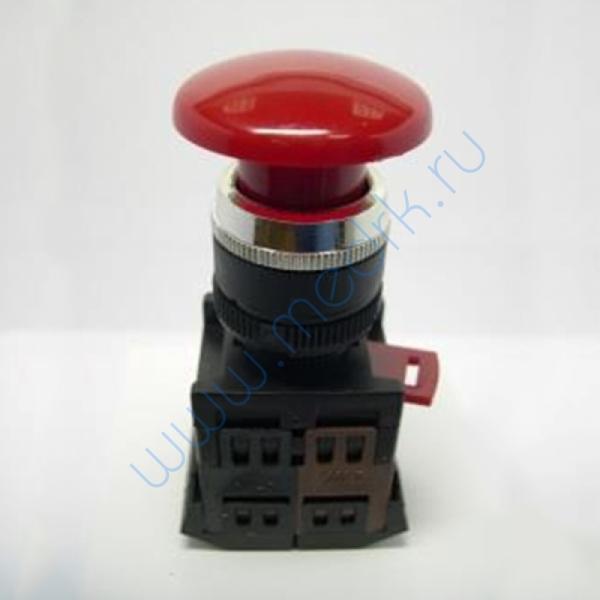 Кнопка с фиксацией красная грибок BACO L22EC01  Вид 1
