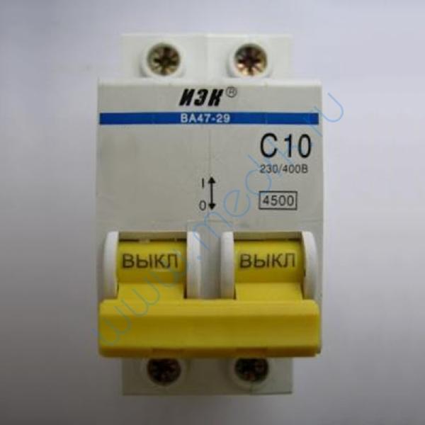 Выключатель автоматический ИЭК ВА 47-29, С10 , 230/400В  Вид 1