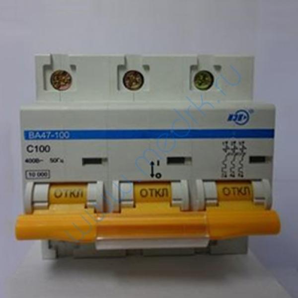 Выключатель автоматический ИЭК ВА47-100 100А 380В  Вид 1
