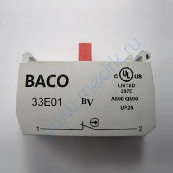 Блок контакта 1 NO BACO 33E01  Вид 1