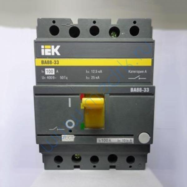 Выключатель ВА88-33 3Р 100А, ЗП SVA 20-3-00100  Вид 1
