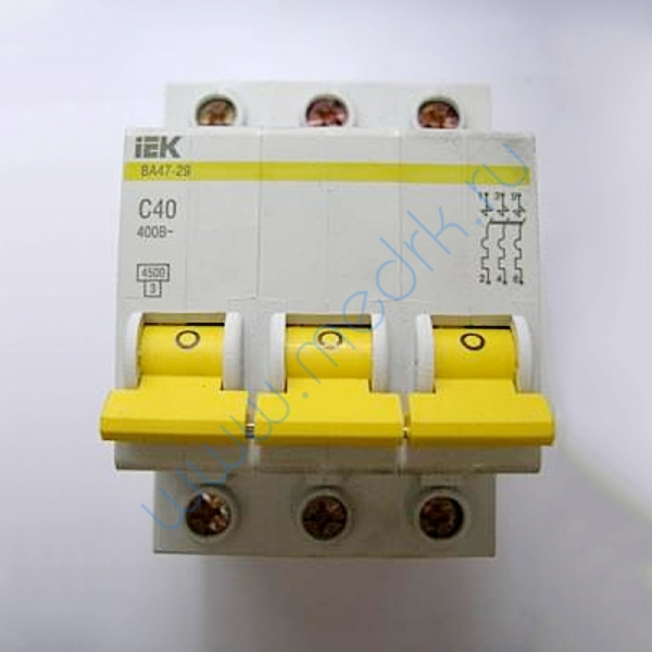 Выключатель IEK ВА 47-29, С40, 400В характеристика С
