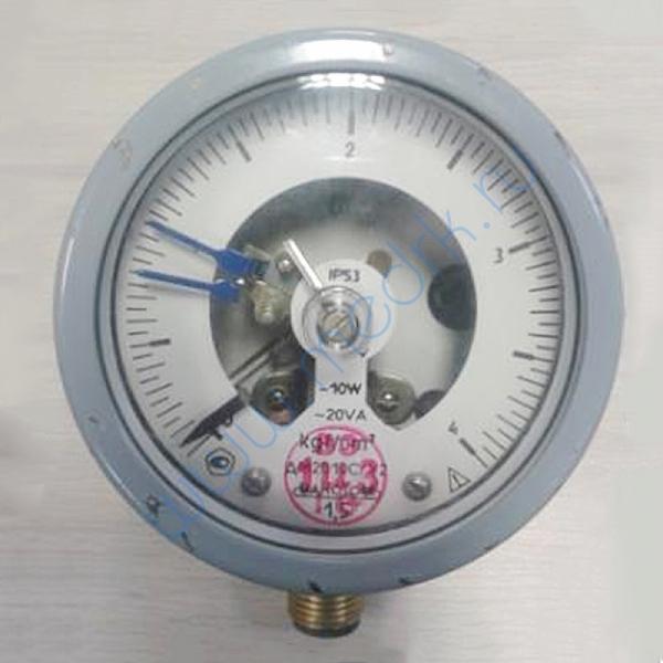 Мановакууметр ДА2010 СгУ2-1.5-0.5 МПа-IР53 V-радиальный