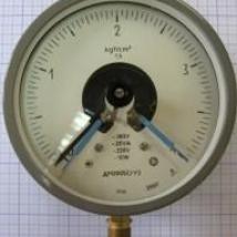 Манометр электроконтактный ДМ-2005 СГ У3-0.6