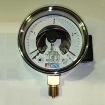 Манометр электроконтактный ДМ 02-V-100-1-M-4 КГС/СМ-1,5
