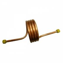 Змеевик ЗР рамповый М16х1,5 - М16х1,5 (10х1; L1500 мм) медь