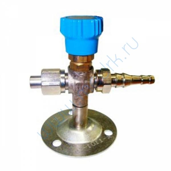 Клапан запорный К-1101-16 (ВКм) (переходник Ду6/9)  Вид 1