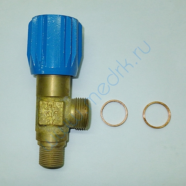 Клапан запорный К-2107-200 (М20х1,5; G3/4)  Вид 1