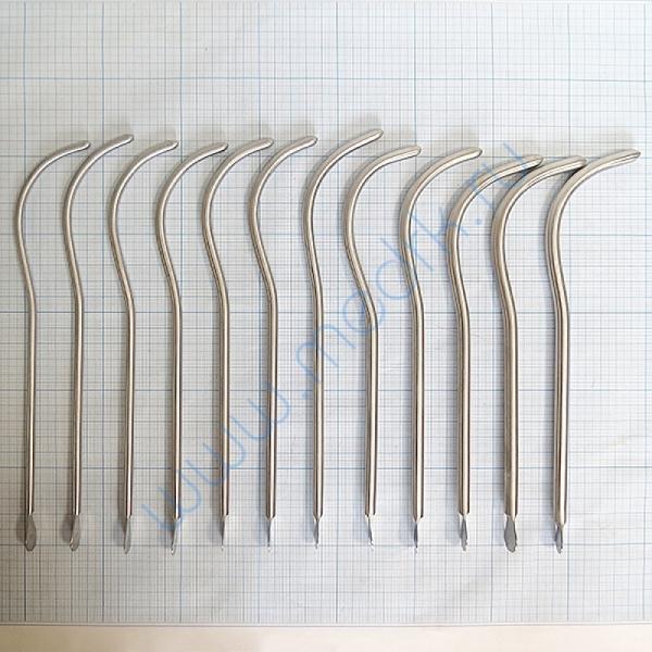 Бужи уретральные металлические изогнутые №16-27  Вид 1
