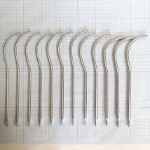 Бужи уретральные металлические изогнутые №16-27