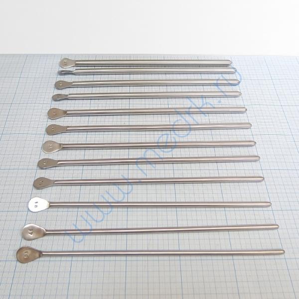 Бужи уретральные металлические прямые №16-27  Вид 2