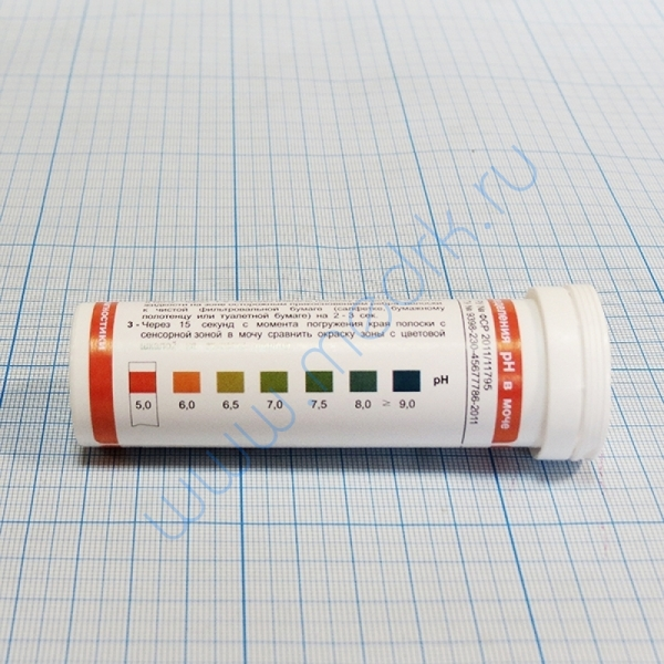 Тест-полоски Ури-pH   Вид 2