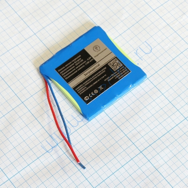 Батарея аккумуляторная 4LF6-1100 для Окситест-1 (МРК)  Вид 1