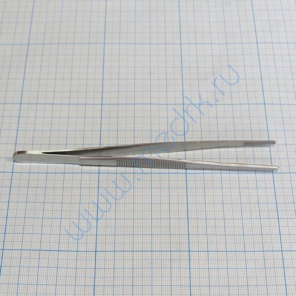 Пинцет анатомический 150х2,5 мм 15-123  Вид 1