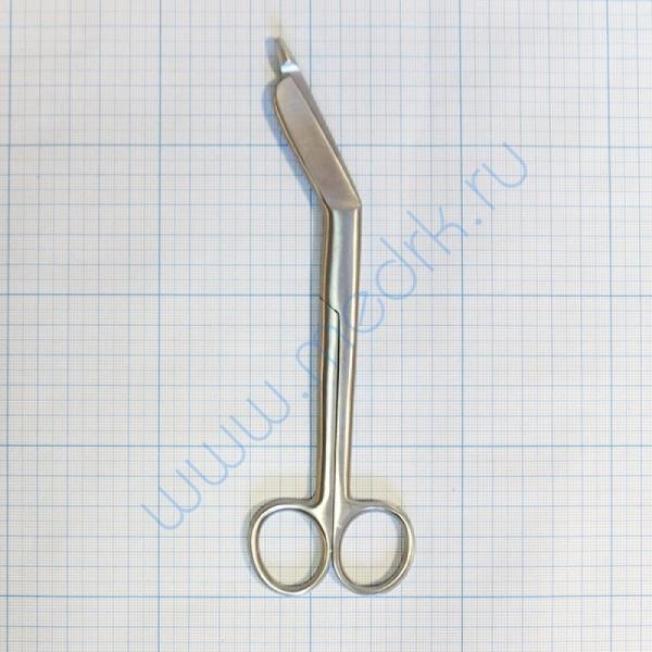 Ножницы для разрезания повязок с пуговкой 27-106 (Н-14)  Вид 3
