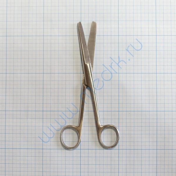 Ножницы тупоконечные прямые 170 мм 13-106 (Н-6)  Вид 2