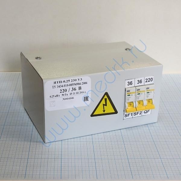Трансформатор понижающий ЯТП 0,25 220/36
