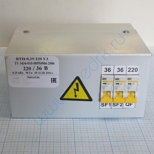 Трансформатор понижающий ЯТП 0,25 220/36  Вид 4