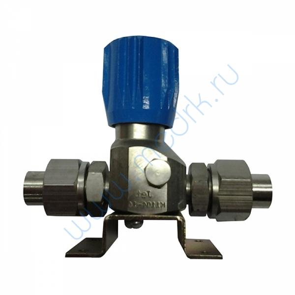 Клапан запорный К-1104-16 (ВМ-06) 10 мм без манометра  Вид 1