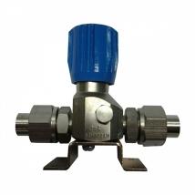 Клапан запорный К-1104-16 (ВМ-06) 12 мм без манометра