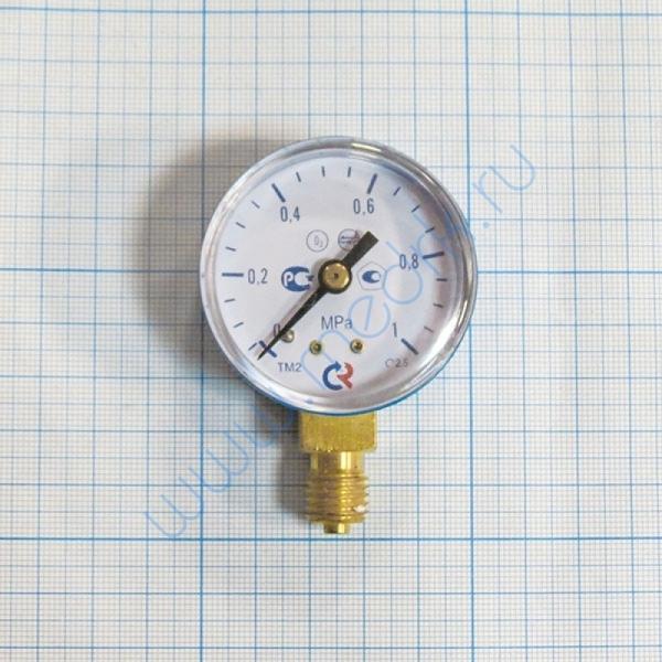 Манометр ТМ-210Р.00 (0-1,0MPa) M12х1,5.2,5, О2, 50 мм  Вид 1