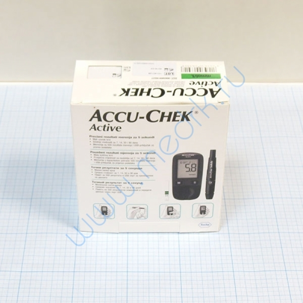 Глюкометр ACCU-CHECK Active (Акку-Чек Актив)  Вид 1
