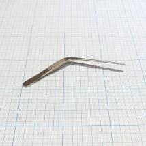 Пинцет ушной изогнутый 105х1,5 мм 39-230 Troeltsch