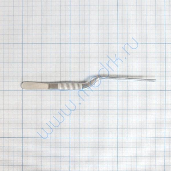 Пинцет ушной анатомический 140х1,5 39-240 Jansen  Вид 4