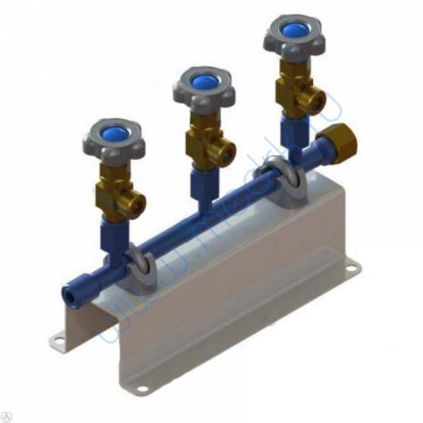 Коллектор кислородный рамповый КР-01-02 (исп. 1)  Вид 1