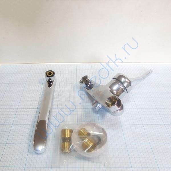 Смеситель настенный хирургический Frap H54 F4654 локтевой  Вид 1
