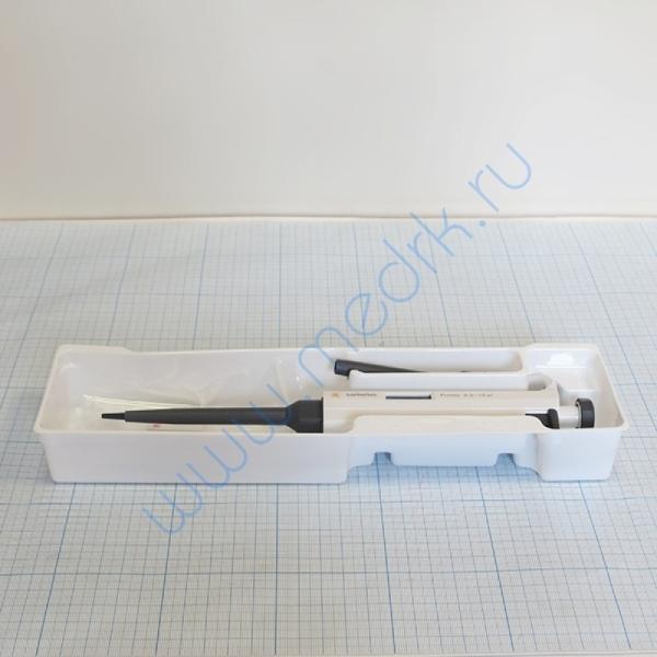 Дозатор одноканальный механический переменного объема 0,5-10 мкл Proline 720016  Вид 1