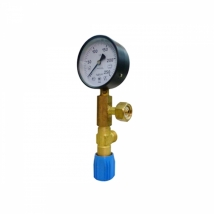 Узел измерительный (манометр 250 атм 100 мм; клапан продувочный)