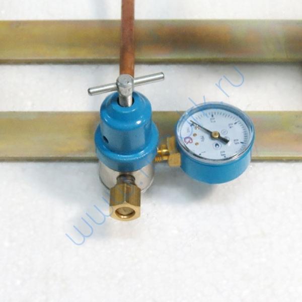 Щит автопереключения газовых рамп с сетевым редуктором (закись азота)  Вид 4