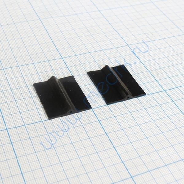 Электрод силиконовый 25х30 мм для аппарата Элэскулап- Мед ТеКо (2 шт.)  Вид 1