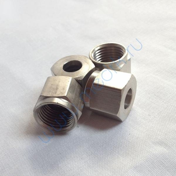 Гайка Р8 к клапану ВМ-06 (М16х1,5) латунь  Вид 1