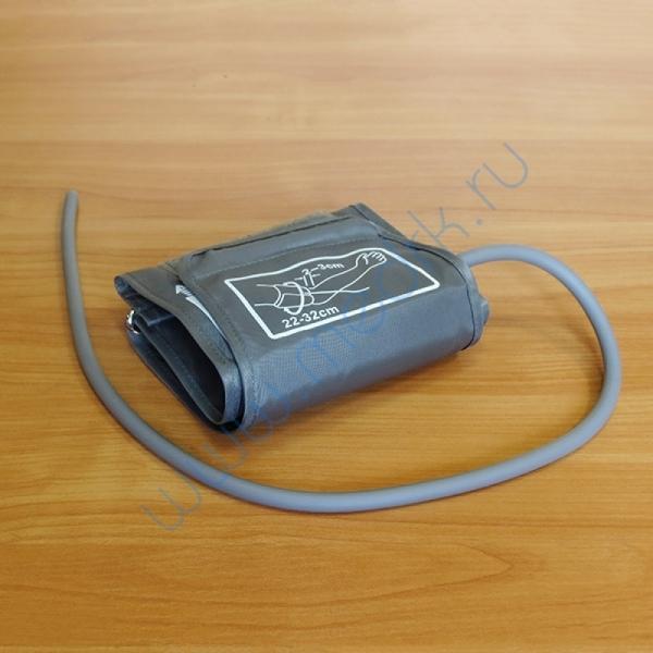 Манжета с камерой, для взрослых, с одним выводом и со скобой (22-32 см) нейлон  Вид 5