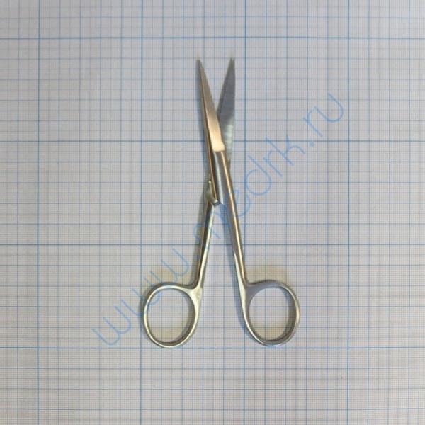 Ножницы с двумя острыми концами прямые 140 мм 13-122 Surgical (Sammar)  Вид 1