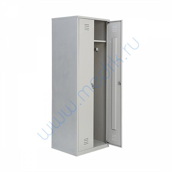 Шкаф двустворчатый металлический для одежды (МСК-2921.600)