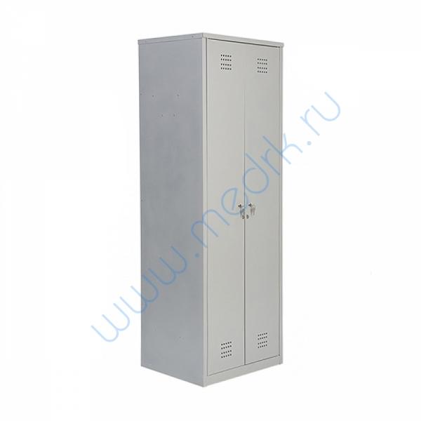 Шкаф двустворчатый металлический для одежды (МСК-2921.600)   Вид 1