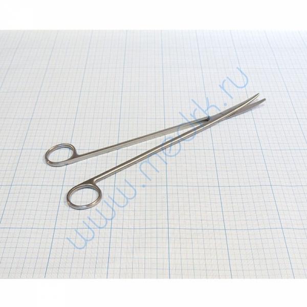 Ножницы тупоконечные вертикально-изогнутые, 250мм 13-256 Metzenbaum (Sammar) аналог J-22-125   Вид 1
