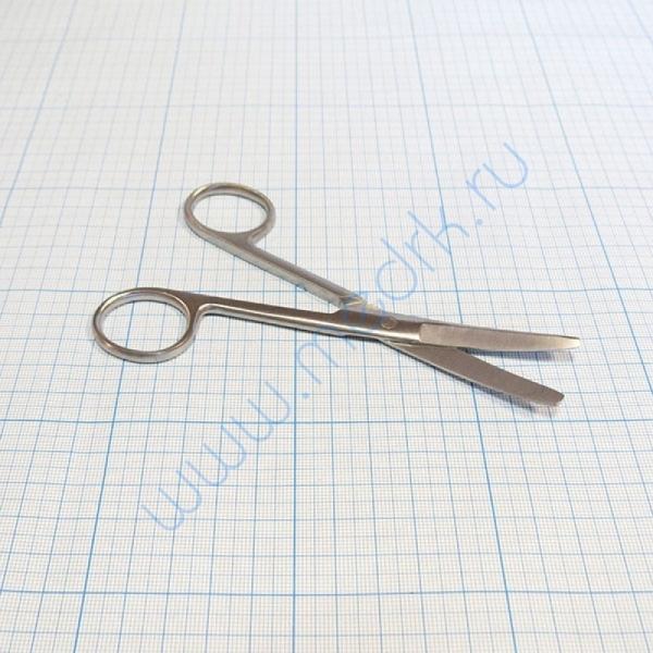 Ножницы тупоконечные вертикально-изогнутые 140 мм 13-132 Surgical (Sammar)  Вид 1