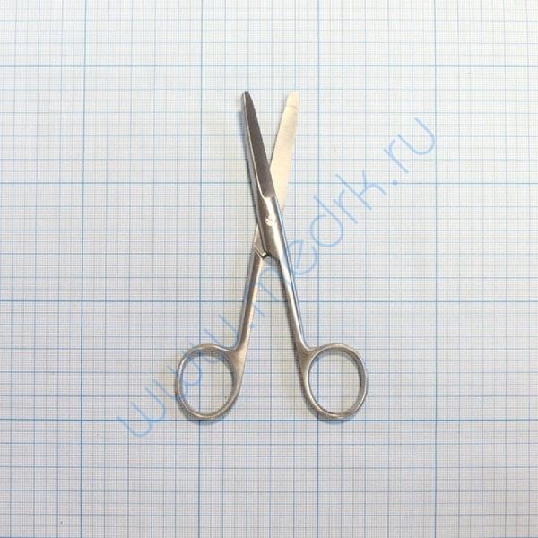 Ножницы тупоконечные вертикально-изогнутые 140 мм 13-132 Surgical (Sammar)  Вид 2