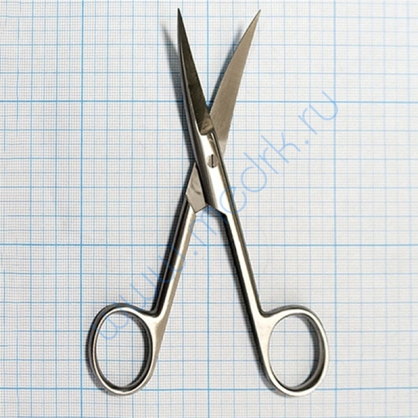 Ножницы остроконечные вертикально-изогнутые 140 мм 13-152 Surgical  Вид 1