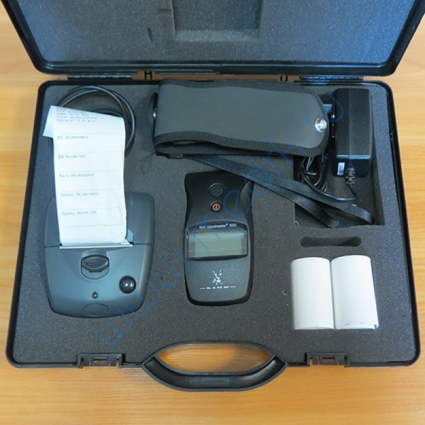 Алкотестер Lion Alcolmeter 500 с термопринтером  Вид 1