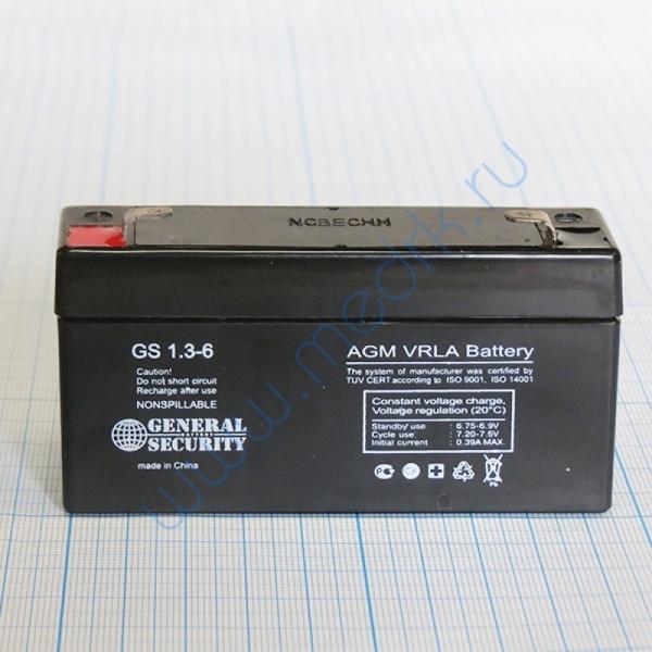Аккумуляторная батарея AN 6-1,3 для ЭКГ Валента   Вид 4