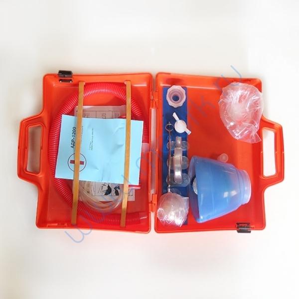 Аппарат дыхательный ручной АДР-1200 для детей взрослых (с принадлежностями)  Вид 1